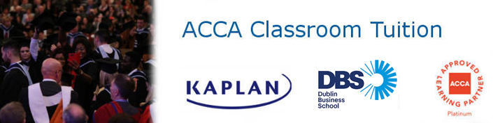 ACCA Full-Time Professional Accountancy Courses for