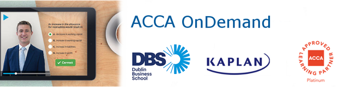 ACCA Online Professional Accountancy Courses for International