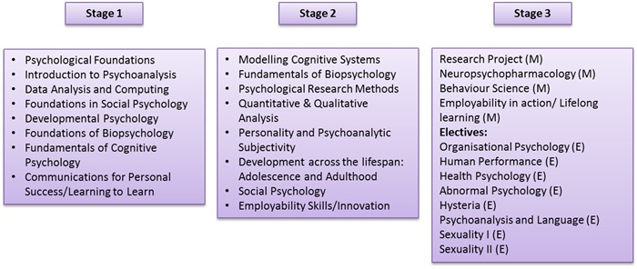 BA (Hons) Psychology Modules