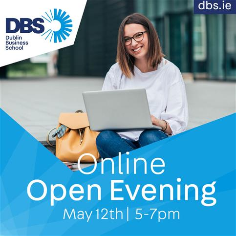 dbs online open evening may 12th