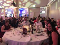 DBS table at Education Awards