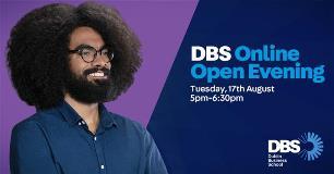 DBS Online Open Evening   Aug 31st