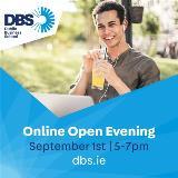 DBS Online Open Evening | Sept. 1st