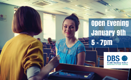 Open Evening January 9th 5 - 7pm